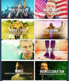 Macklemore ♥ i want to lear all i mean rember the lyric