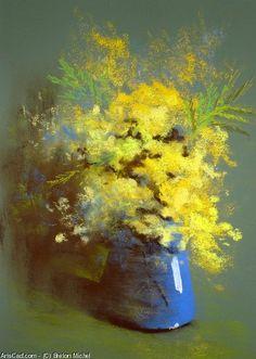 Artwork >> Breton Michel >> Bouquet de Mimosas