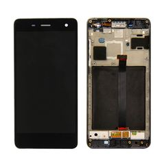 [$27.33] iPartsBuy Xiaomi Mi 4 LCD Screen + Touch Screen Digitizer Assembly with Frame(Black)