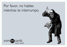 No hables frases #divetidas #rie #alegria #español