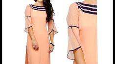 Full Length PETAL   TULIP Sleeve for Kurti   Kameez   Dress  DIY - 2