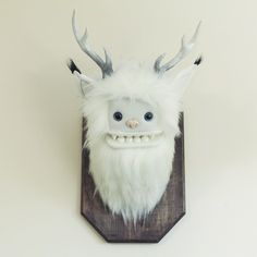 Yetis are live! This Snowshoe Yeti along with 20 of his friends just made it into the shop. Follow the link in our bio to get there!:) #yetisandfriends #taxidermy #stoat