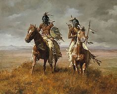 The Victors - Howard Terpning - World-Wide-Art.com
