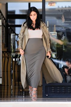 Where Kim K. likely does most of her pregnancy shopping. (Read: Not a maternity store.) #refinery29 http://www.refinery29.com/2015/09/93891/kim-kardashian-pregnancy-style#slide-2
