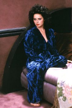 Isabella Rossellini in Blue Velvet directed by David Lynch.