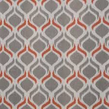 Image result for orange and grey geometric fabric