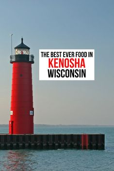You'll be thrilled to discover not only the traditional Wisconsin food favorites like cheese, sausage and kringles in Wisconsin. But you'll be surprised to learn that there's much more to taste and explore. #VisitKenosha