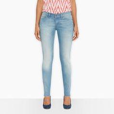 Levi Demi Curve Skinny Jeans