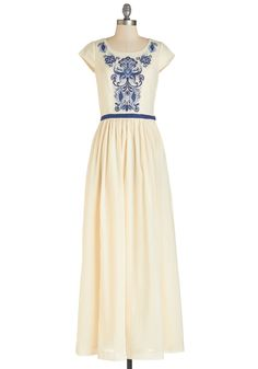 A to Gazebo Dress. Without sparing a single detail, youve organized your outdoor ceremony to perfection. #cream #modcloth