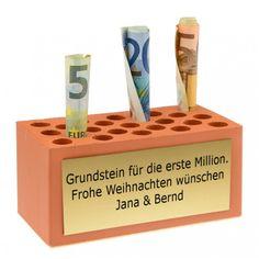 Geldgeschenk Weihnachten - Grundstein für die erste Million