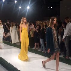 #70s Glam At @rachelzoe. #nyfw #ss16 By Shopbop