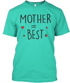 Mom T Shirts For Men And Women  Mint T-Shirt Front