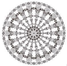 Zentangle made by Mariska den Boer 167