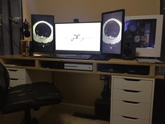 Made a desktop for my new pC #handmade #crafts #HowTo #DIY