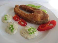 Remulád mártás rántott halhoz 2 Sausage, French Toast, Meat, Breakfast, Food, Morning Coffee, Sausages, Essen, Meals