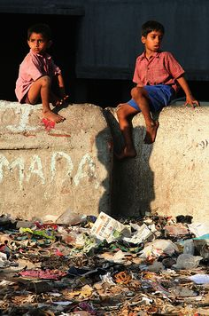 1.2 billion people live in india,,, 1 Billion of those people live below the poverty line.
