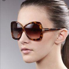 Authentic Tom Ford Jade Tortoise Sunglasses