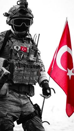 Ottoman Flag, Ottoman Empire, Turkish Military, Turkish Army, Army Men, Military Army, Turkey Flag, Avatar Images, Turkish Soldiers