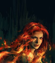 She was beautiful, but she was beautiful in the way a forest fire was beautiful: something to be admired from a distance, but not up close. ~Good Omens (One of my favorite Books)  War by alicexz