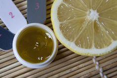 Citromos-olivaolajas körömápoló gél