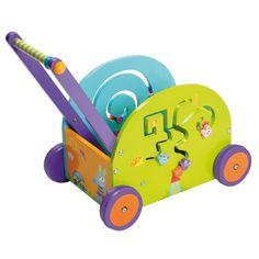 Push & Play Rabbit Wagon