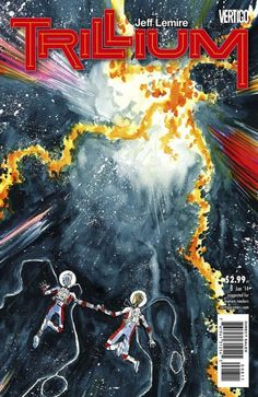 The cover to Trillium #8 (2014), art by Jeff Lemire