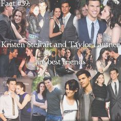 Kristen Stewart And Taylor Lautner Pic....Best Friends On And Off Screen ❤❤❤                                                                                                                                                                                 More