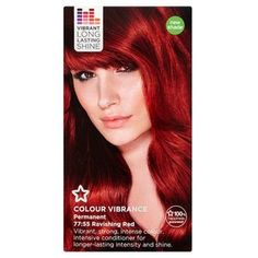 Superdrug vibrance 77/55 ravishing red