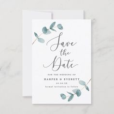 Classic Wedding Invitations, Save The Date Invitations, Wedding Stationary, Save The Date Magnets, Save The Date Cards, Save The Date Ideas, Save The Day, Blue Save The Dates, Wedding Save The Dates