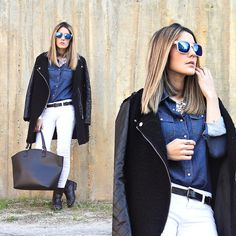 I HAVE THE CITY IN MY EYES (by Maria Garcia) http://lookbook.nu/look/4721945-I-HAVE-THE-CITY-IN-MY-EYES