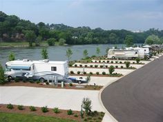 Two Rivers Landing RV Resort is a new luxury RV Resort nestled along the banks of the beautiful French Broad River located in the peaceful green valley of Sevierville, Tennessee. Beautiful resort!