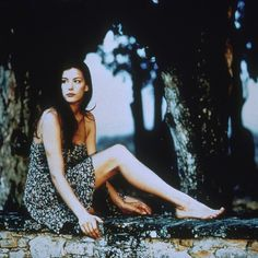 "A young Liv Tyler in Bernardo Bertolucci's ""Stealing Beauty"" (1996) dressed by Giorgio Armani."