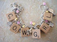 Reverse of the Taylor Swift Country Music Charm Bracelet by islandgirlzjewelry, $29.95