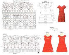 Receitas de Trico e Croche: Roupa - Vestido