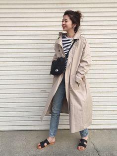 サコッシュバッグ♡ と ラフ〜なぺたんこサンダル♡ Instagram 🌴 m__s_zzz__