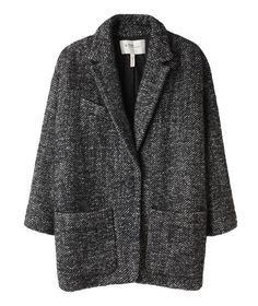 les anti-modernes*: lust and found: Isabel Marant 'bator' coat. Fashion Mode, Look Fashion, Milan Fashion, Looks Style, Style Me, Style Blog, Boyfriend Coat, Tweed Coat, Wool Coat