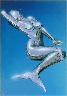 Futurism Art, Drawn Art, Arte Cyberpunk, Retro Futuristic, Airbrush Art, Retro Art, Sci Fi Art, Psychedelic Art, Geek Culture