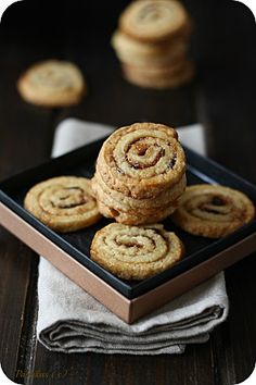 Sablés Escargots aux Figues Gateaux Cake, Biscuit Cookies, Cookie Jars, Muffins, Bakery, Gluten, Sweets, Breakfast, Food