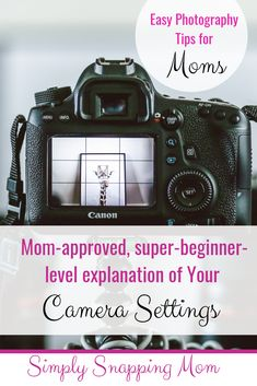 Camera Settings For Beginners! Easy to understand photography tips for the busy mom who wants to capture better pictures of their children! Learn exactly what these mean in easy to understand terms! Dslr Photography Tips, Photography Lessons, Photography For Beginners, Photoshop Photography, Photography Business, Photography Tutorials, Creative Photography, Digital Photography, Photography Backdrops