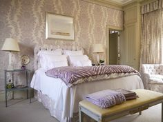 Purple Lavender Bedroom Decorating Ideas