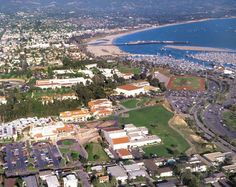 SBCC campus from the air.