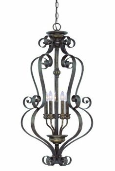 Jeremiah Lighting 26535-CB Kingsley 5 Light Foyer Lantern Pendant, Century Bronze, http://www.amazon.com/dp/B0045533PU/ref=cm_sw_r_pi_awdm_sCnntb1JMSMGB