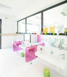 First modular KOMA kindergarten out of the luxury ComfortLine modules Secondary School, Primary School, World Government, Schools, Kindergarten, Luxury, Home Decor, Middle School, Decoration Home