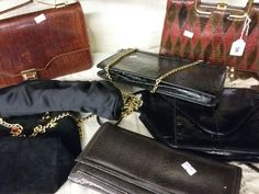Vintage bags in our fashion auction on 2/11/16 at Bourneendauctionrooms