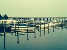 Looking at the train trestle with the Pilot House Marina in the foreground, Woodbridge, Va.     9/17/14 kls