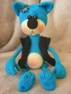мишки,зайки,котики...добрые игрушки для вас!!!: Вязаные игрушки