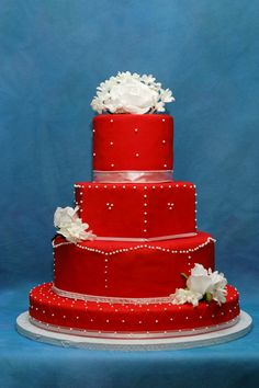 My Photo Album Red wedding cakes Red wedding and Wedding cake