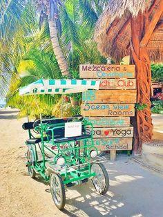 Isla Holbox off the coast of Cancun, Mexico.