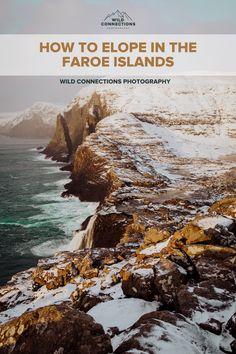 How To Elope In The Faroe Islands Coach Tours, Tourist Spots, Faroe Islands, Elopement Inspiration, Car Rental, Wedding Couples, Wild Flowers, Tourism, Beautiful Places