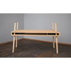 Caspar in height  adaptable table (Nature)